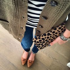 stripe and leopard