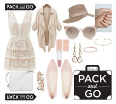 """Pack And Go: Labor Day"" by bruhitslucy ❤ liked on Polyvore featuring BCBGMAXAZRIA, Witchery, Rimmel, Topshop, Furla, Ippolita and Accessorize"