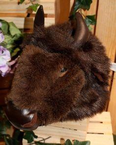 Buffalo Animal Hat Rittle Furry Friends