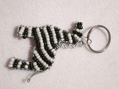 beadwork key ring #13