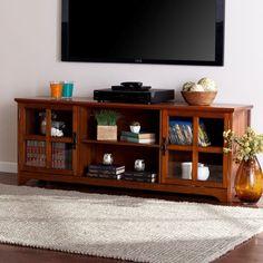 Great for Tv Media Stand Brown Transitional MDF Pine Veneer Bronze Fi. Oak Tv Cabinet, Tv Cabinets, 65 Inch Tv Stand, Armoire, Tv Stand Brown, Tv Media Stands, Tv Stands, Ikea, Solid Wood Tv Stand