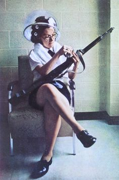 guns always need a mani pedi