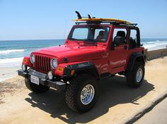 Taking a road trip down the entire West Coast, Jeep, music, camping on or near the beach, lots of sunsets