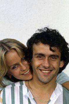 Michel y Christelle Platini.