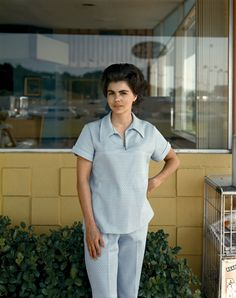 Stephen Shore, Helen Butler (3 June, 1976), Fort Worth, Texas, USA