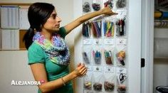 [VIDEO]: School Supply Organization - How to Organize Small Supplies at Home on In this video I show you one way to organize school supplies or home office supplies using over-the-door organizing s. PRODUCTS USED: Photo Labels Door s Video Details Hi, … School Supply Storage, School Supplies Organization, Office Supply Organization, Office Supplies, Organizing School, Organizing Ideas, Organizing Solutions, Classroom Supplies, Classroom Organization
