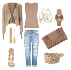 Smooth nude by diamonddare on Polyvore featuring Armani Collezioni, Glamorous, Genetic Denim, Ivanka Trump, Topshop, Chanel and Charlotte Russe