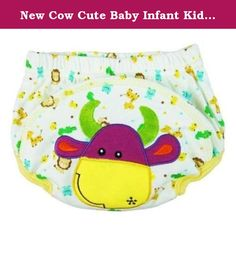 New Cow Cute Baby Infant Kids Toilet Pee Potty Training Pants Cloth Underwear Diaper Size L (11~16 Kg). New Cute Baby Infant Kids Toilet Pee Potty Training Pants Cloth Underwear Diaper Size L (11~16 kg) Features: * 100% brand new with high quality; * Repeated use, more environmental protection than paper diapers; * It's easy cleaning and Comfortable; * Unique design, protect your baby's tender bottom; * Make your children look more cute. Size: L: Fit about 15~32 months/ 11~16 kg baby....