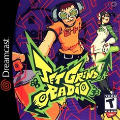 Jet Grind Radio / Jet Set Radio - Sega Dreamcast 2000