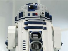 Lego introduces 2100 piece R2D2 - this would be a great way to spend an afternoon.