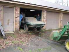 1966 Corvette barn find