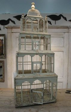 19th century french birdcage from Appley Hoare