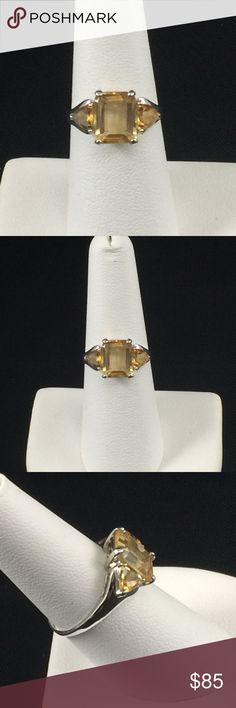 I just added this listing on Poshmark: Citrine ring, 10K white gold. #shopmycloset #poshmark #fashion #shopping #style #forsale #Jewelry