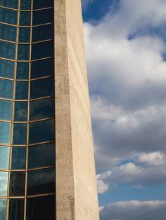 Concrete And Glass Architecture Detail Free Stock Photo - Libreshot