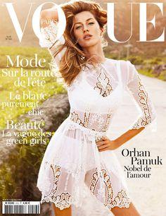 Gisele's Paris Vogue Cover April 2011