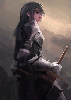 lone warrior by Sayta0