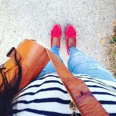 Red shoes kindda day. #christmasshoppingcontinues #butbreakfastfirst #maywoodpancakehouse #itsawesomeoutsidetoday