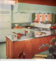 121 best st charles kitchens images kitchens retro kitchens rh pinterest com