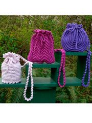 Annie's Attic crochet handbags