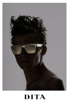 d814d0f2357 Dita - Insider-Two Crystal Brown - Dark Brown sunglasses