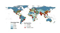 Almost all of the world's biggest cities will be in Asia and Africa by 2030.