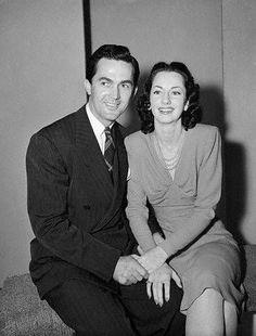 Virginia O'Brien and Kirk Alyn