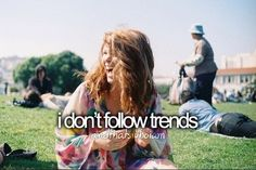 I just don't