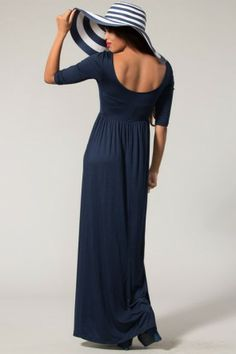 """It Has To Be Comfortable"" Maxi Dress-Black"