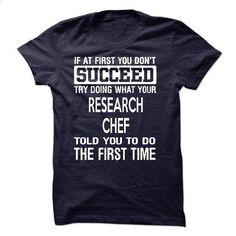 Research Chef T-Shirt - #girls #t shirt design website. ORDER NOW => https://www.sunfrog.com/LifeStyle/Research-Chef-T-Shirt-50598177-Guys.html?60505