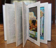 Altered book - scrapbooking.