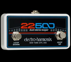 EHX.com | 22500 Foot Controller - Product Photo | Electro-Harmonix