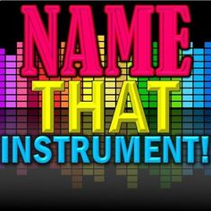 """""""Name That Instrument!"""" SB Orchestra Game - Elementary Music - Use for Sub Plan! Music Sub Plans, Music Lesson Plans, Music Lessons, Teaching Orchestra, Teaching Music, Music Activities, Music Games, Singing Games, Family Activities"""