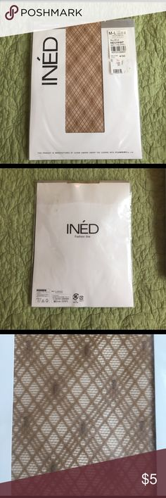 """Ined stocking Size M-L. For height 150-165cm/ 5' -5'4"""". Made in Japan ined Accessories Hosiery & Socks"""