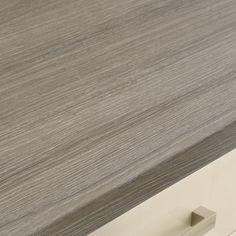 Grey Oak Effect bullnose worktop
