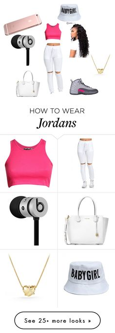 """""""- I Left Untouched """" by jordandesi on Polyvore featuring Pilot, Beats by Dr. Dre, Michael Kors and David Yurman"""