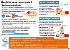 Ce qu'il faut savoir : que faire en cas de noyade ?  Voici les bons réflexes à avoir  par MYTF1News   #santé   #infographie Un partage qui peut sauver des vies.