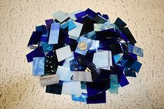 Blues Tones Mix Value Pack - Stained Glass / Mosaics (3 P...