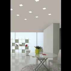 The F19 Tools recessed light is a sleek trimless LED down light utilizing Grivory®, a highly rugged, heat resistant plastic (made of polyamides with glass fibers). By using Grivory, this fixture avoids the concern of plaster cracks from the expansion and contraction from heat generated by the LED source.