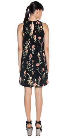 Dresses | Iris Print Trapeze Dress