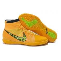 9026a50074cf3 The Lastest Nike Just Do It Elastico Superfly IC Orange Yellow Black In  Atlantic City Football