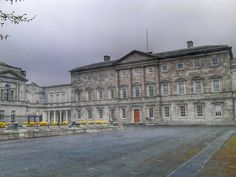 Leinster House, seat of Irish politics, Kildare Street, Dublin. Somewhere Over, I Want To Travel, Over The Rainbow, Dublin, Old Photos, United Kingdom, Ireland, Irish, Louvre