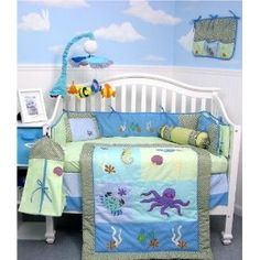 Owen Roved Under The Sea Baby Bedding Even Thought Secretly I Think We Both Want A