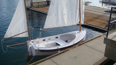 Houdini by John Welsford (LOA: m). Serious, a sailing dinghy with space to sleep two or daysail four. Specs, plans, building logs, photo and video gallery. Wooden Boat Plans, Wooden Boats, Aluminum Flat Bottom Boats, Sailing Dinghy, Sailing Boat, Utility Boat, Cabin Cruiser, Paddle Boat, Small Boats