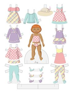 Family at Easter Paper Dolls - IVY by Julie Matthews from Paper Doll School 4 of 4