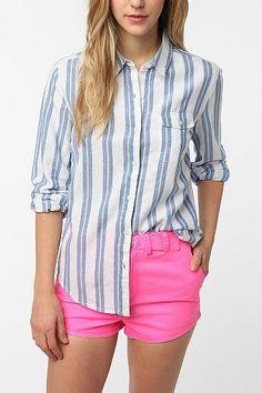 UrbanOutfitters.com > BDG Oxford Boyfriend Shirt