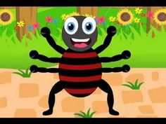 Incy Wincy Spider (Itsy Bitsy Spider) - Nursery Rhymes