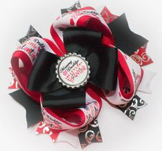 Valentine Hair Bow