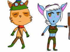 Tristana x Teemo  Came out Terrible xD Legend Drawing, League Of Legends, Princess Peach, Drawings, Fictional Characters, Art, Sketches, Craft Art, League Legends