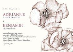 Kleinfeld Paper 'Paeonia' wedding invitations