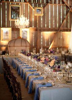 Rustic Glam Santa Barbara Wedding by XOXO Bride and Braedon Photography Barn Parties, Outdoor Parties, Festa Party, Romantic Weddings, Barn Weddings, Country Weddings, Wedding Events, Wedding Receptions, Wedding Tables